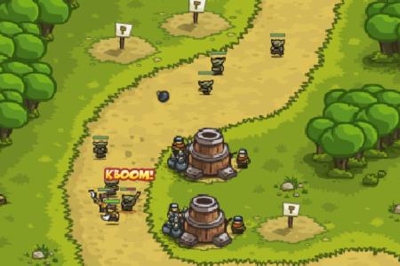 mini games tower defense