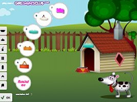 Dog Dream House Free Online Decorate Games Minigames